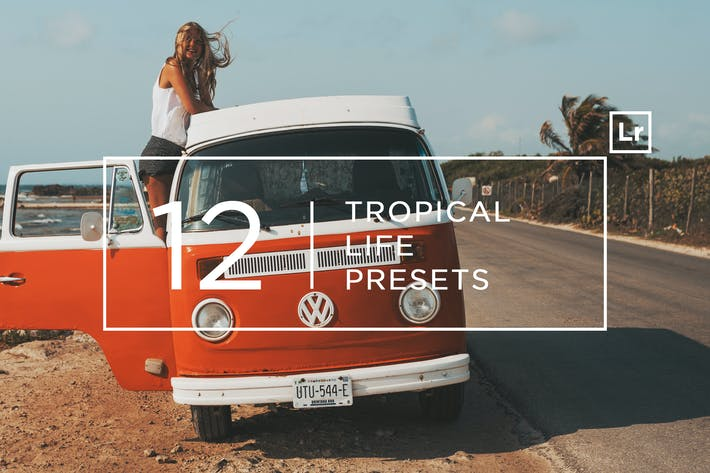 Thumbnail for 12 Tropical Life Lightroom Presets