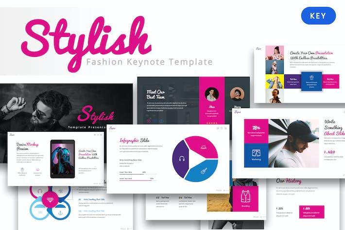 Stylish - Fashion keynote Template