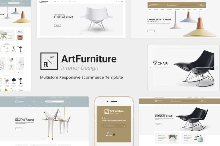 Thumbnail for ArtFurniture - Responsivo Magento 2 Tema