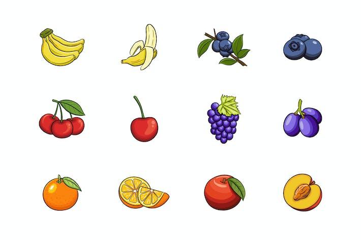 Thumbnail for Fruits Illustration V.2