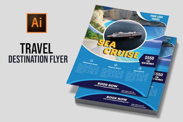 Travel Destination Flyer vol 5