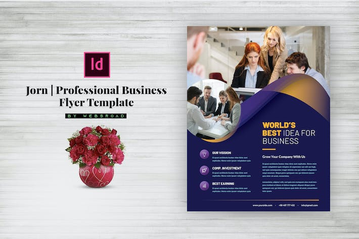 Thumbnail for Jorn   Professional Business Flyer Template