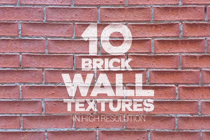 Brick Wall Textures x10