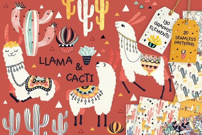 Thumbnail for Llamas and Cacti