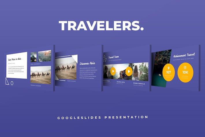 Thumbnail for Travel Google Slides Presentation