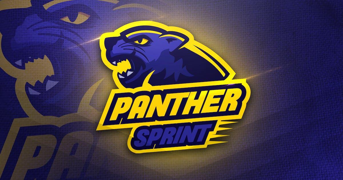 Panther Thunder - Mascot  & Esport Logo by aqrstudio
