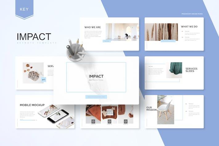 Thumbnail for Impact -  Keynote Template