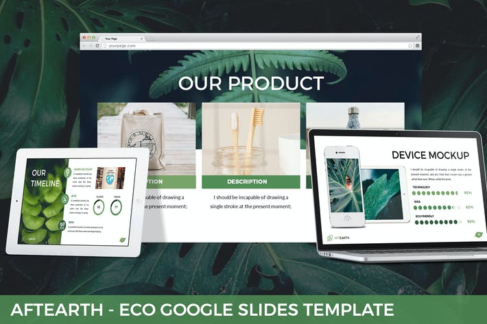 Thumbnail for Aftearth - Eco Google Slides Template