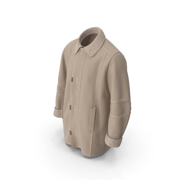 Men's Coat Beige