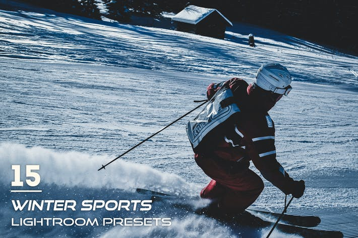 Thumbnail for 15 пресетов зимних видов спорта Lightroom