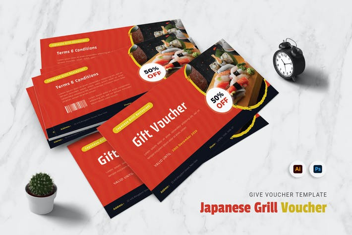 Thumbnail for Japanese Grill Gift Voucher