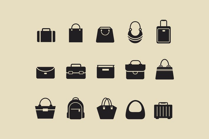 Thumbnail for 15 Bag Icons