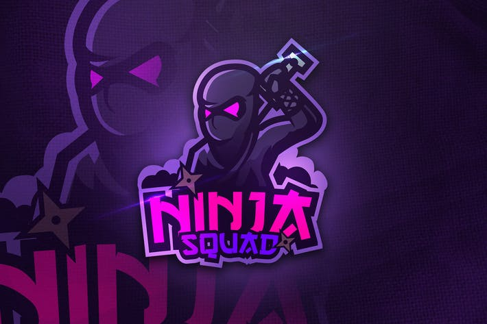 Thumbnail for Ninja Squad - Mascot & Esport Logo