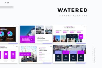 Watered  - Keynote Template