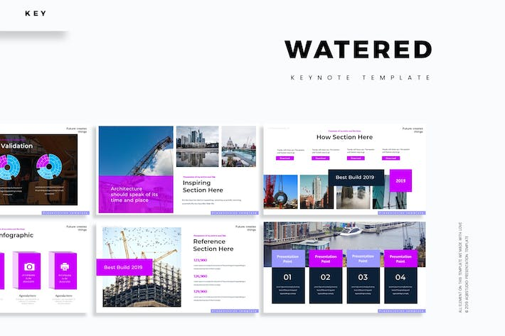 Thumbnail for Watered  - Keynote Template