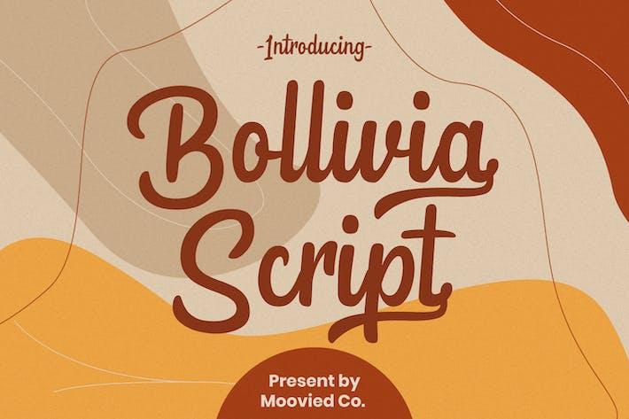 Thumbnail for Bollivia Script