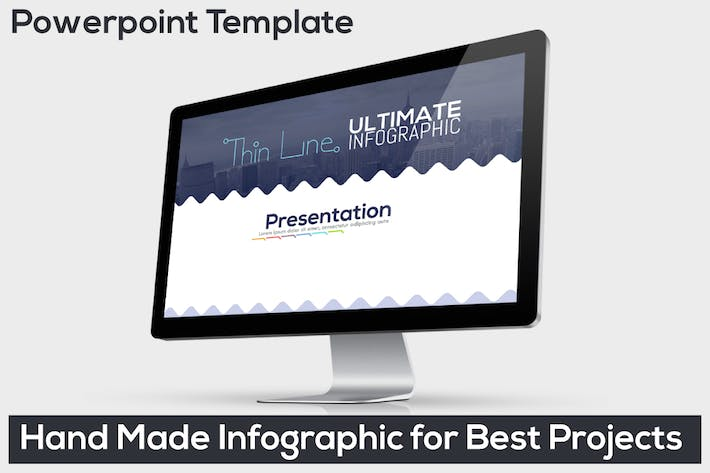 Thumbnail for Ultimate Thin Line Powerpoint Infographic