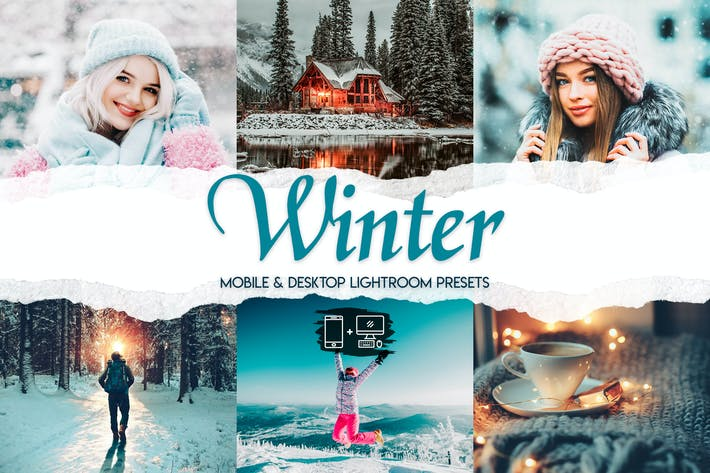 Thumbnail for Зима - 15 пресетов премиум-класса Lightroom