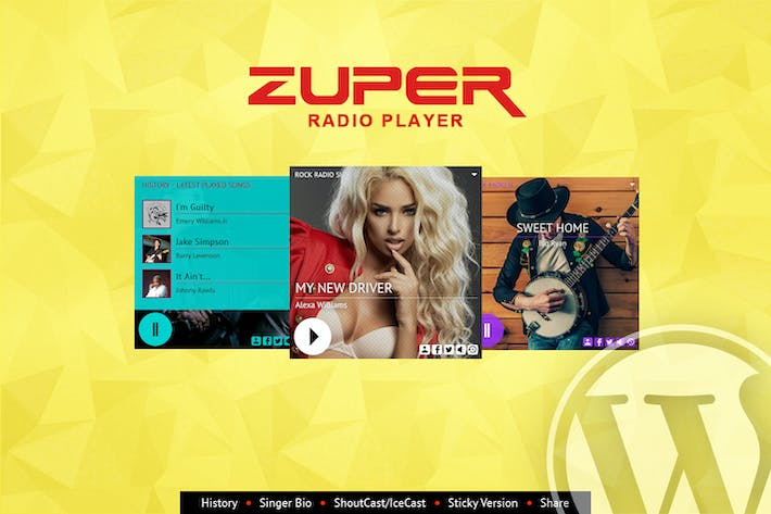 Thumbnail for Zuper - Shoutcast and Icecast Radio Player