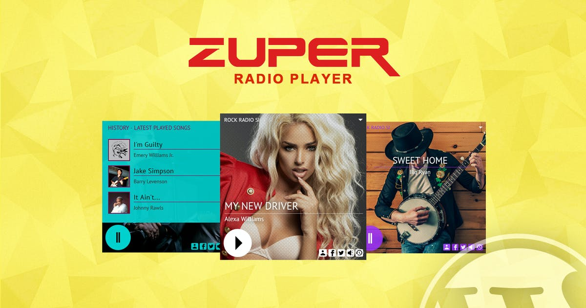 Download Zuper - Shoutcast and Icecast Radio Player by LambertGroup