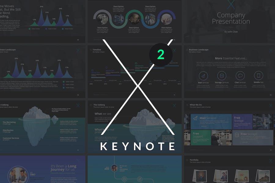 X Note (VOL.02) - Keynote Template