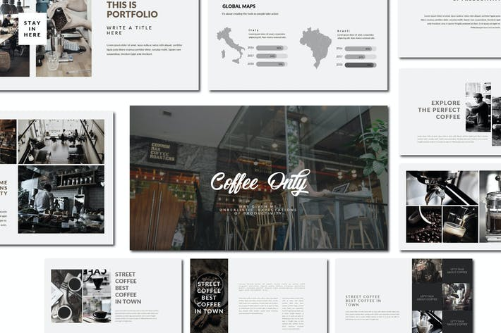 Thumbnail for Coffee | Keynote Templates