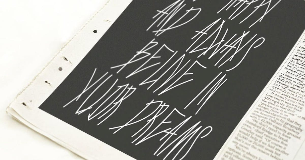 Download LAM/Font by a_slowik