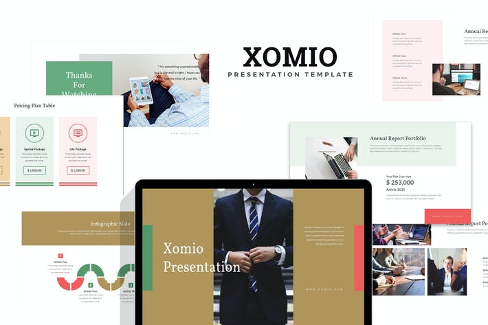Thumbnail for Xomio : Business Report Keynote
