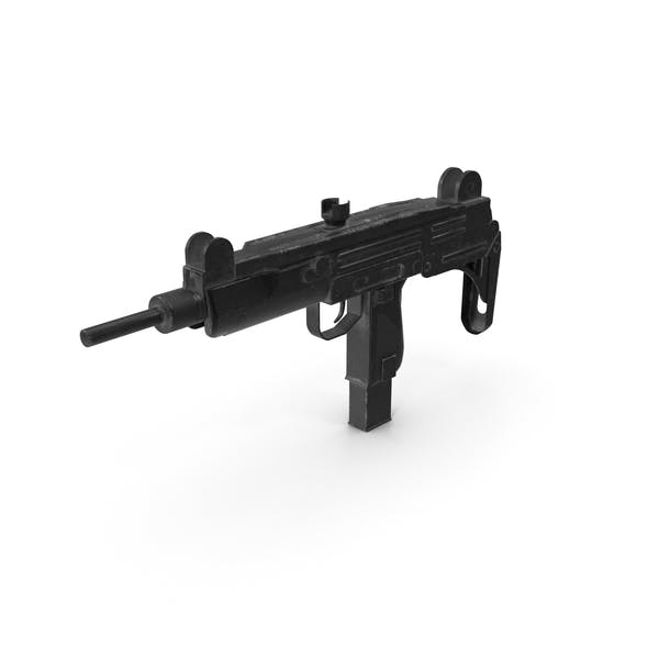 Worn Submachine Gun