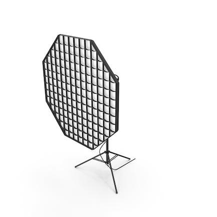 Studio Monolight Octabox with Grid And Head