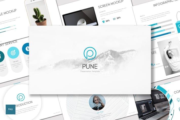 Thumbnail for Pune - Keynote Template