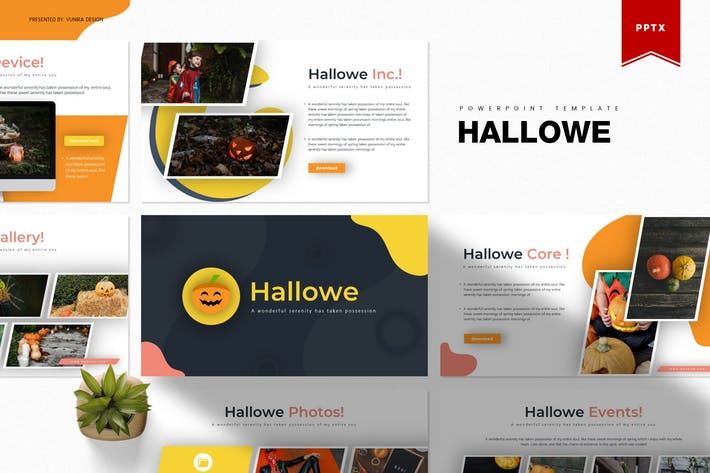 Thumbnail for Hallowe   Powerpoint Template