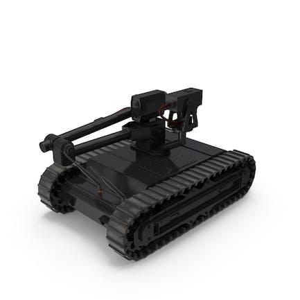 Армейский робот черный