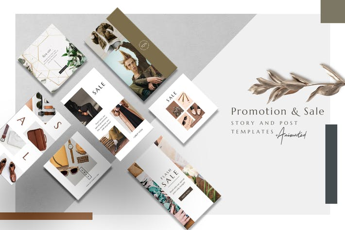 Thumbnail for Promotion and Sale - Animated Instagram Basic Pack