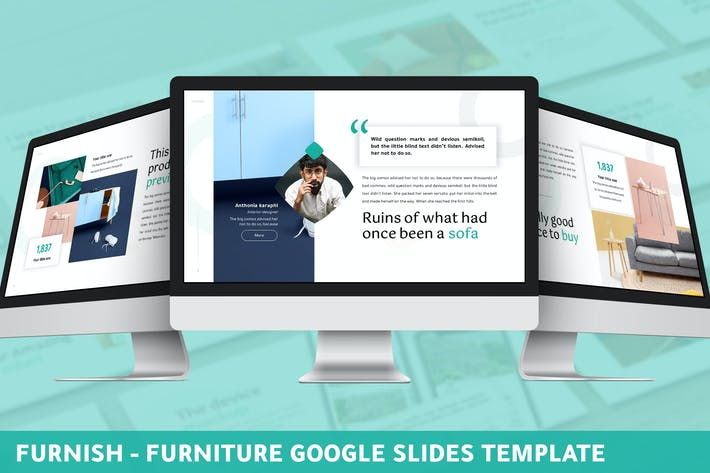 Thumbnail for Furnish - Furniture Google Slides Template