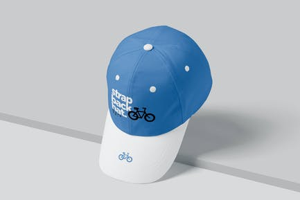 Strapback Hat Mockups