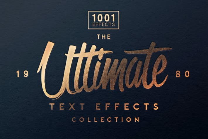 Thumbnail for The Ultimate 1001 Text Effects
