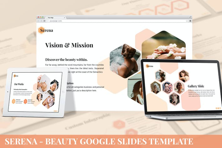 Serena - Beauty Google Slides Template