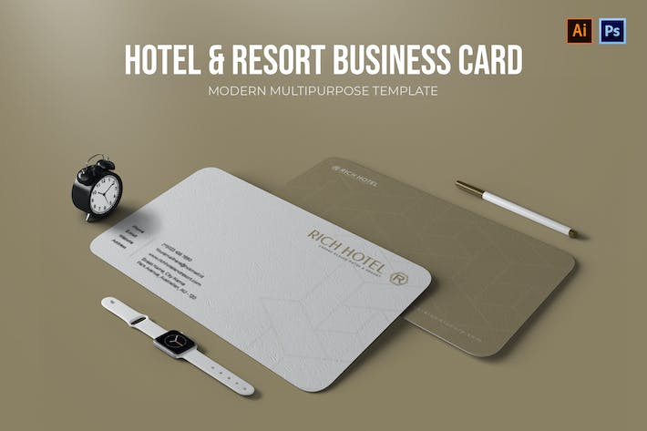 Thumbnail for Hotel & Resort - Business Card