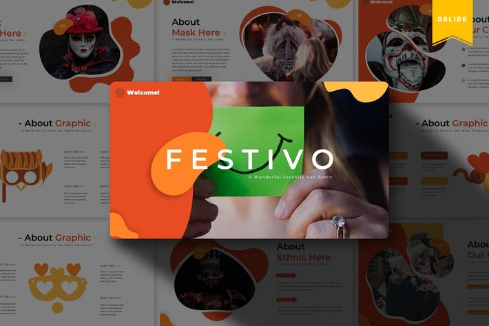 Thumbnail for Festivo | Google Slides Template