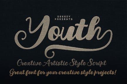 Youth Script Font
