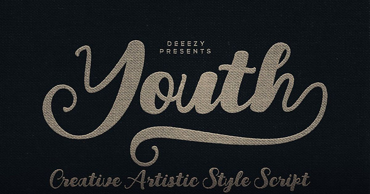 Download Youth Script Font by cruzine