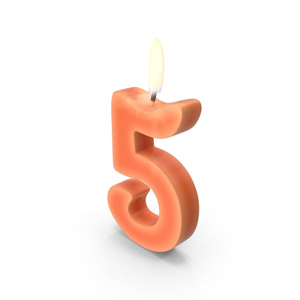 Thumbnail for Number Five Candle