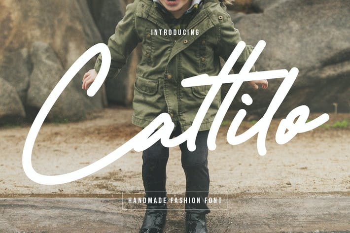 Thumbnail for Cattilo Kids Handmade Fashion Font
