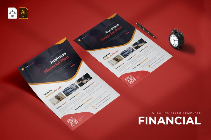 Financial Plan | Flyer