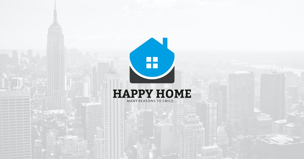 Download Happy Home Logo by graphix_shiv