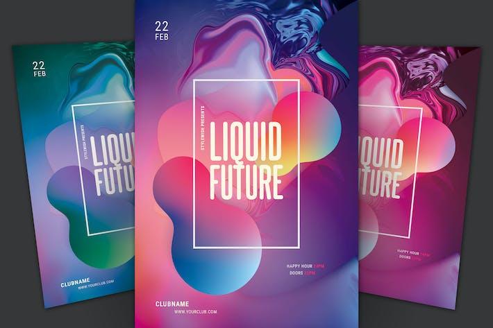 Cover Image For Liquid Future Flyer