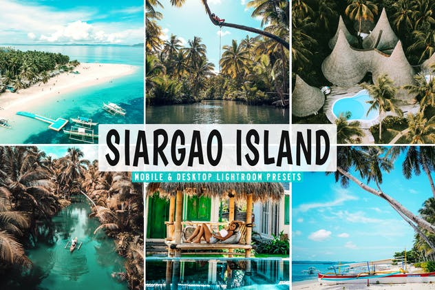 Siargao Island Mobile & Desktop Lightroom Presets - product preview 5