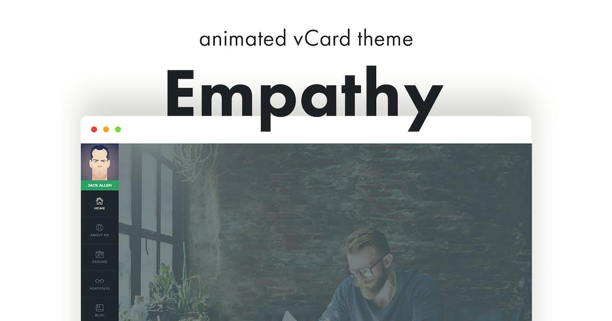 Empathy - Animated vCard WordPress Theme by pixelwars