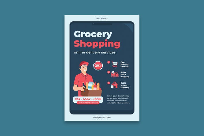 Thumbnail for Grocery Poster